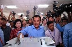 柬埔寨人民党在第六届国会选举中获胜