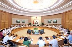 越南政府总理阮春福:河内应确保洪涝地区的环境卫生