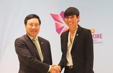 第51届东盟外长会议: 范平明分别会见柬埔寨和挪威外交大臣