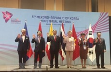 第八届韩国—湄公河外长会在新加坡召开