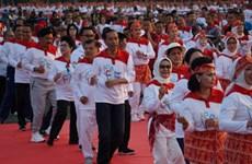 """""""2018年东盟无车日""""活动在印尼启动"""