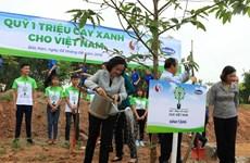 """""""越南一百万颗树基金""""计划在北件省开展植树活动"""