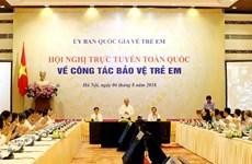 政府总理阮春福主持召开全国儿童保护工作视频会议