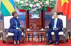 越南扩大与卢旺达和几内亚的多领域合作关系