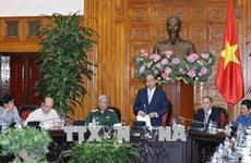 政府总理阮春福会见越南橙剂受害者协会代表