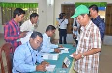 柬埔寨第6届国会选举验票工作结束