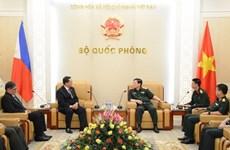 越南与菲律宾加强防务合作