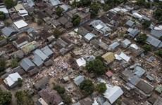 印度尼西亚龙目岛强震:死亡人数近350人 另有1400余人受伤