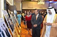 纪念阿联酋创立者谢赫·哈利法诞辰100周年图片展亮相首都河内