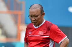 ASIAD 2018:越南国家奥林匹克足球队取消第一堂训练课
