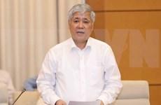 越南国会常务委员会第26次会议:越南政府民族委员会主任杜文战登台接受质询