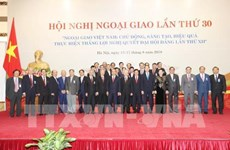 第30届外交会议:开辟越南与世界各国之间贸易合作展望