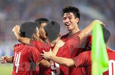 ASIAD 2018:巴基斯坦媒体高度评价越南国家奥林匹克足球队的水平