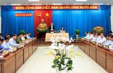 国家主席陈大光:安江省应集中加快转变农业增长模式 促进高科技农业发展