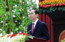 孙德胜主席诞辰130周年纪念典礼--重温越南革命传统的机会