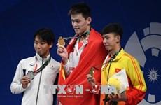 ASIAD 2018:8月20日越南体育代表队暂时排名第16
