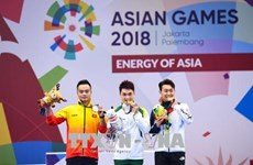 ASIAD 2018:越南再获两银一铜