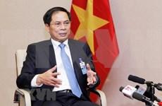 越南副外长:WEF ASIAN 2018彰显越南对国际社会的高度责任感