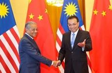 马来西亚总理马哈蒂尔结束访华之旅
