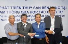 越南与荷兰携手推动九龙江平原水产业可持续发展