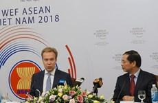 WEF ASEAN 2018: 越南迎接各实地考察团