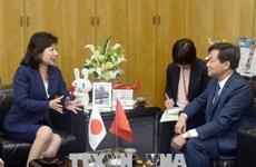 越南政府监察总署总监察长黎明慨对日本进行工作访问