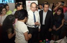 胡志明市市委书记阮善仁: 越南年轻一代须锐意创新