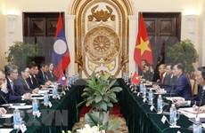 第三次越老外交部政治磋商在河内举行