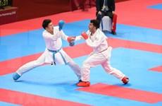 ASIAD 2018: 空手道运动员为越南带来惊喜
