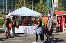 越南参加加拿大国家展览会