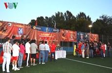 2018年旅俄越南人足球比赛圆满落幕