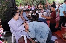 旅外越南侨胞纷纷举行盂兰节超度法会