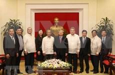 菲律宾民主人民力量党访问越南