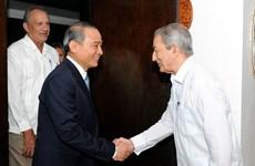 岘港市委代表团对古巴进行工作访问