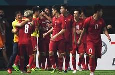 ASIAD 2018:越南国奥队下决心拿铜牌