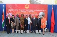 越南驻外代表机构举行国庆73周年纪念活动
