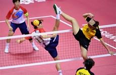 ASIAD 2018: 越南女子拳击和男子藤球各拿铜牌