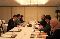 第50届东盟经济部长会议:越南积极参加讨论并主动建言献策