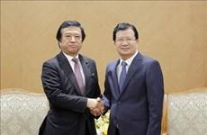 促进越南与日本在经济与海洋科学领域的合作