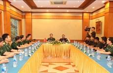越南与印度青年军官开展交流座谈活动