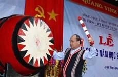 越南政府总理阮春福同昆嵩省师生共庆开学典礼