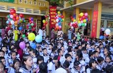 越南全国2300万名学生迎来开学典礼