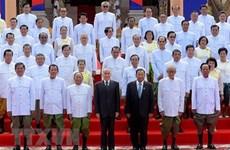 越南领导致电祝贺柬埔寨第六届国会通过新一届国会议员和内阁成员名单