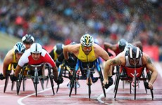 2018年亚残运会火炬传递活动正式开始