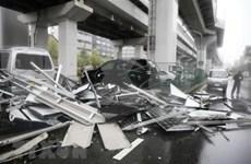 越南驻日本大阪市总领事馆:未接到有越南人在台风飞燕中伤亡的报告