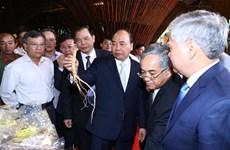 阮春福总理:像保护国家品牌一样保护玉玲人参品牌价值