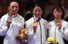 ASIAD 2018:蒙古失摔跤金牌  越南体育代表团最终位居16位