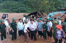 越共中央组织部部长范明正走访慰问清化省洪涝灾害灾民
