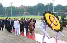 印尼总统维多多和夫人圆满结束对越进行的国事访问