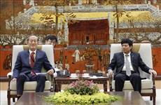 韩国企业加大对河内市的投资力度